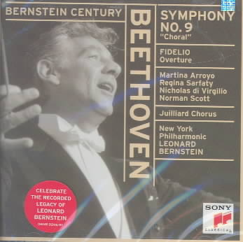 BEETHOVEN:SYM. 09 BY BERNSTEIN/NEW YORK P (CD)